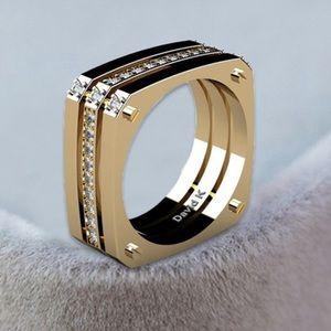 Jewelry - ❤️ Zirconia Square Ring 10200